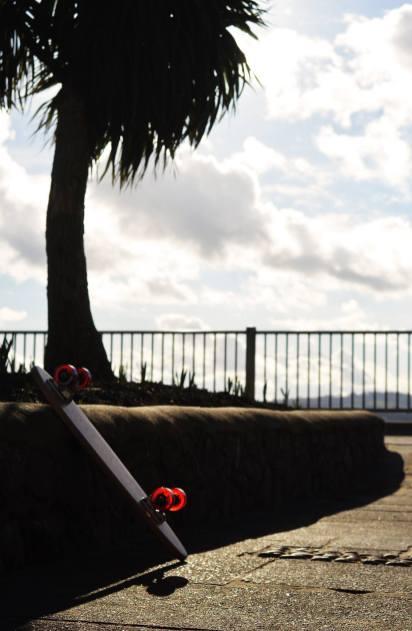 Deluxe Cruiser Profile - Hurtle Skateboards