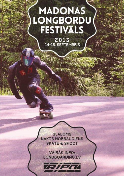 Madona Longboard festival 2013