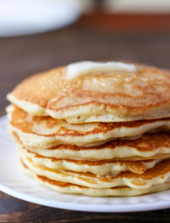 The best ever homemade pancake mix!
