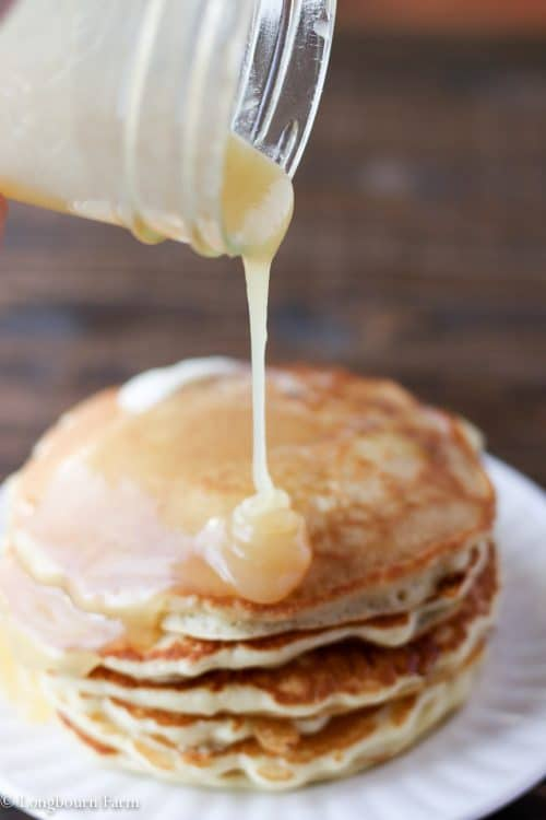 Homemade syrup butter syrup longbourn farm homemade syrup is easy to make and so delicious this recipe turns out every time ccuart Images