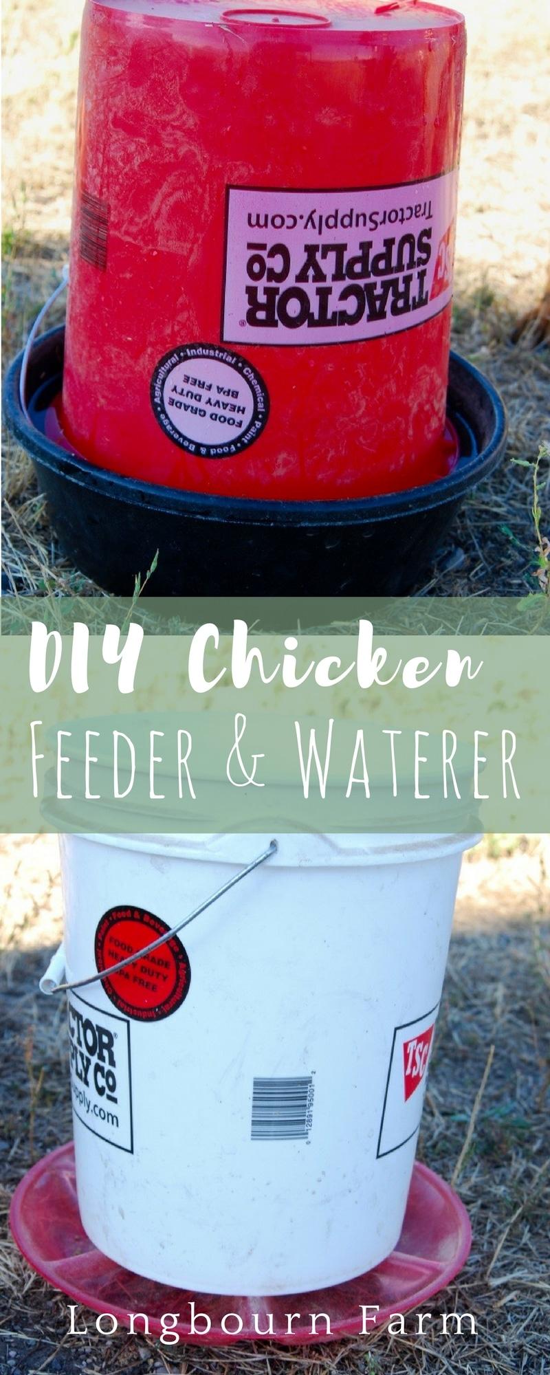 Chicken Feeder And Waterer A Tutorial