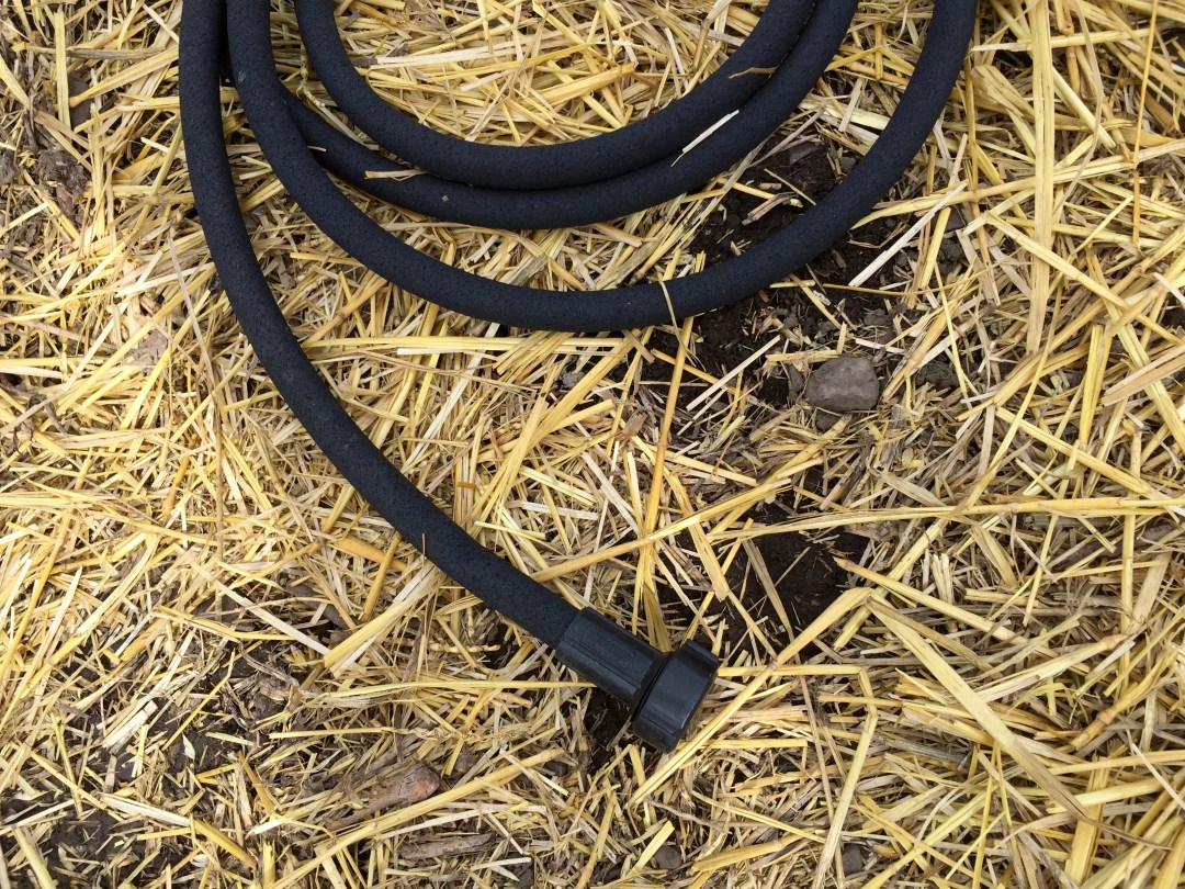 Larger 1/2 inch soaker hose