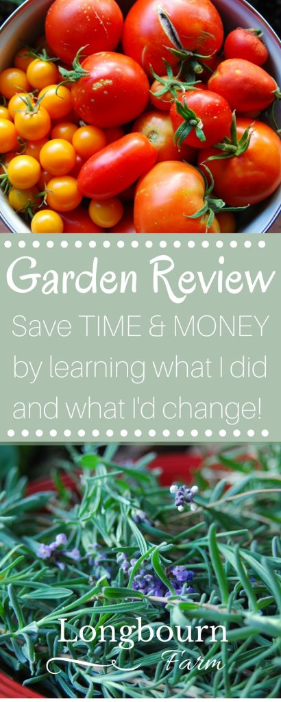 Read what I did in my garden this year, how it worked, how it compared to previous years, and what my plans are for the future. It will help you make your own garden improvements, save time in your garden and save money in your garden!