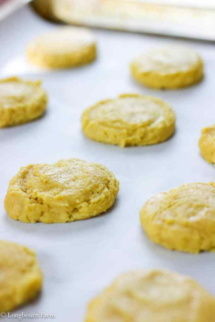 Pumpkin Sugar Cookies!