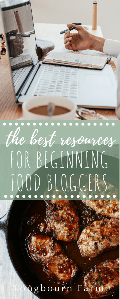 Are you a beginning food blogger? Don't know where to start? Check out this super helpful resource list to get headed in the right direction!