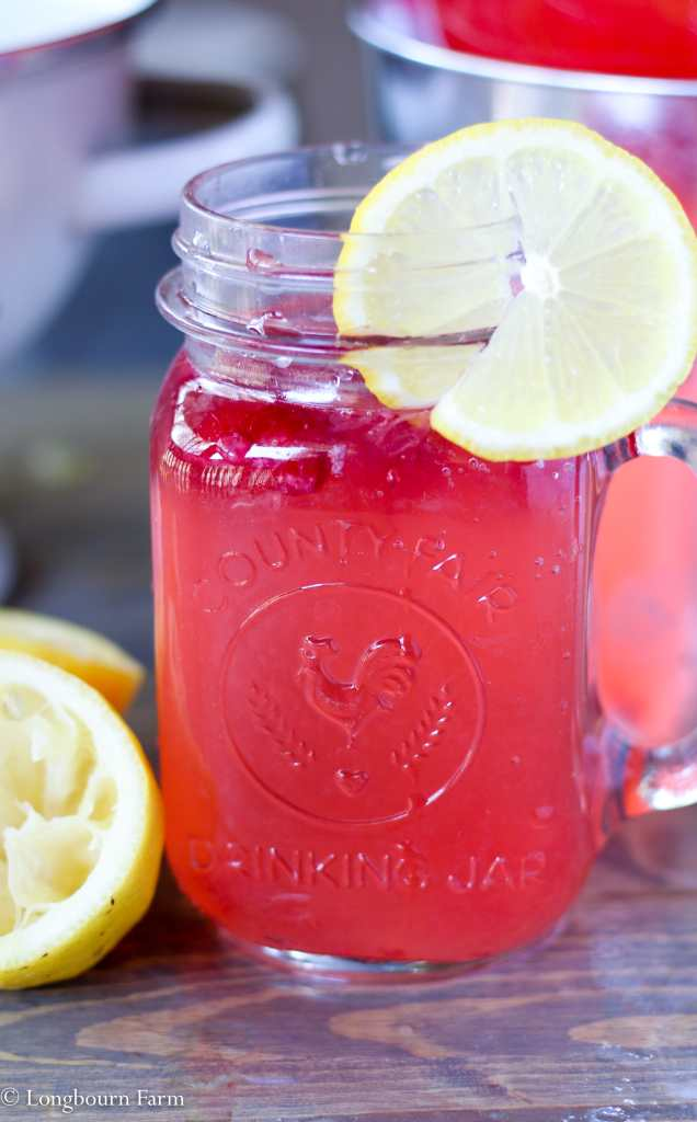 Raspberry Lemonade!