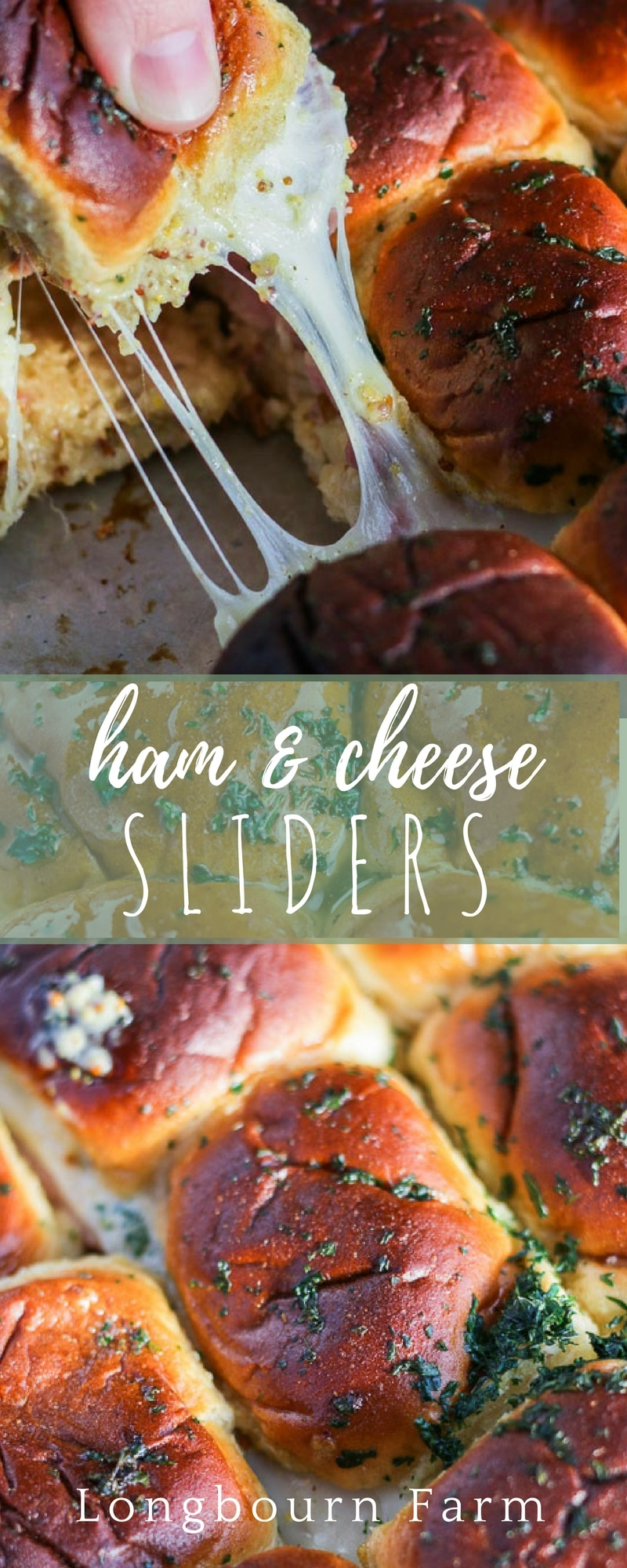 Ham and cheese sliders are a fast and delicious way to get a meal done quick or even a great appetizer for game day or party day. Packed with flavor and ultra cheesy!