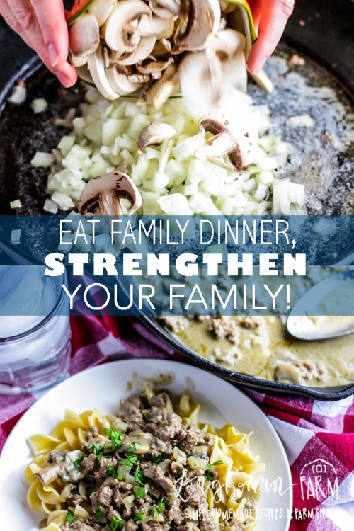 We all know having family dinner is good, but did you know it can actually relieve stress, increase academic performance and improve all your family relationships? #longbournfarm #familydinner #familymeal #mealprep #mealpreparation #mealplan #mealplans #mealplanning #planningdinner #familytime #family #homeamdemeals #homemadefood #homemadedinner #homemademeal #homemademeals #mealprepsunday #mealprepmonday
