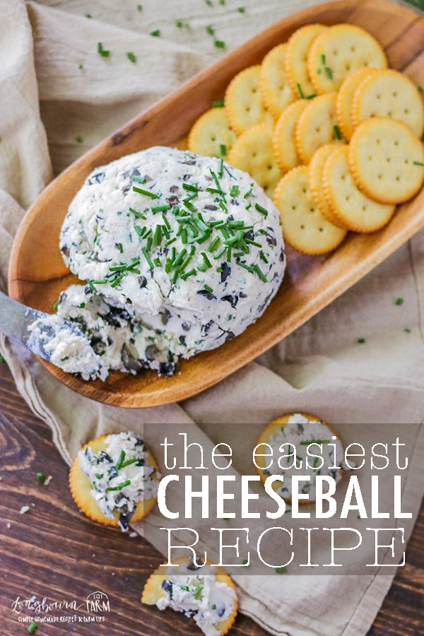 This easy cheese ball recipe is a holiday staple in our family and so simple to put together. Easy ingredients, flavors everyone will love! #cheeseballrecipe #cheeseball #cheeseballclassic #holidaycheeseball #thanksgivingappetizer #appetizereasy