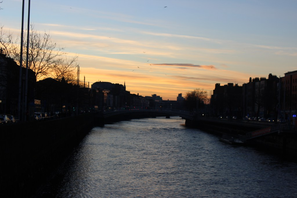 View from O'Connell Bridge.