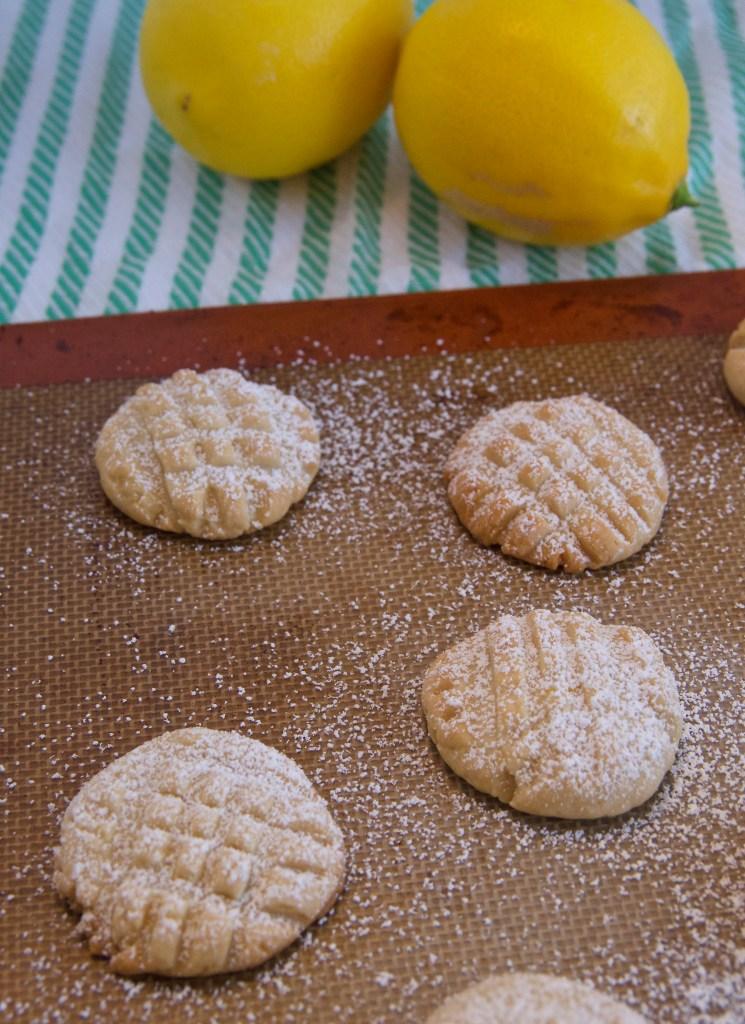 Lemon Butter Cookies: Not too sweet, with just a hint of lemon | longdistancebaking.com
