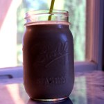 Chocolate Coconut Oatmeal Smoothie