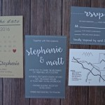 DIY Wedding Map