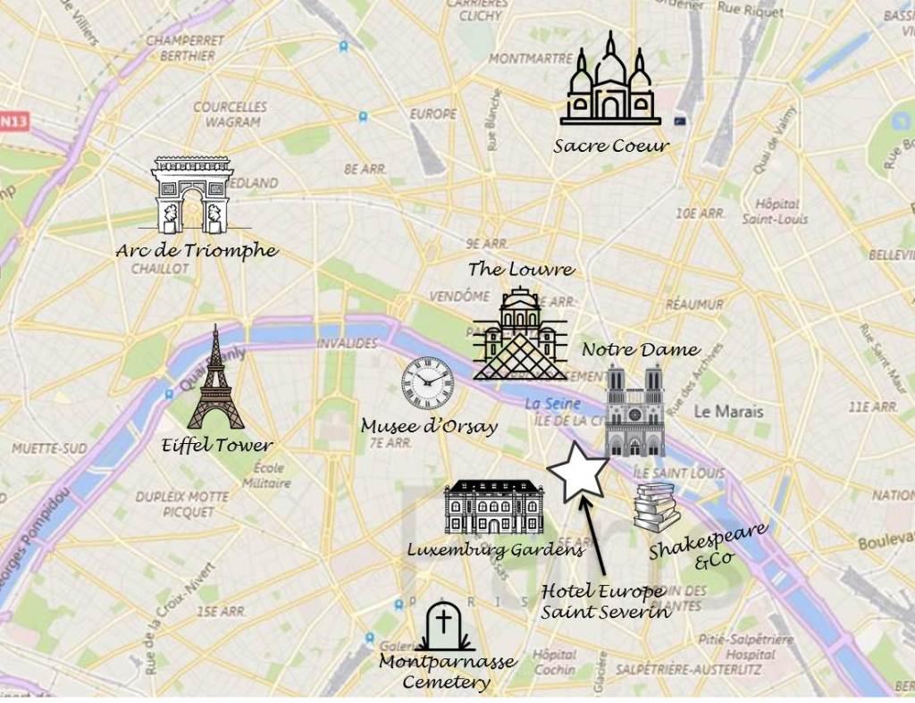 What to do in Paris, France   longdistancebaking.com