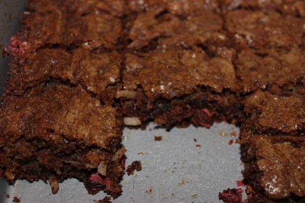 Monster Cookie Brownie Bars   longdistancebaking.com