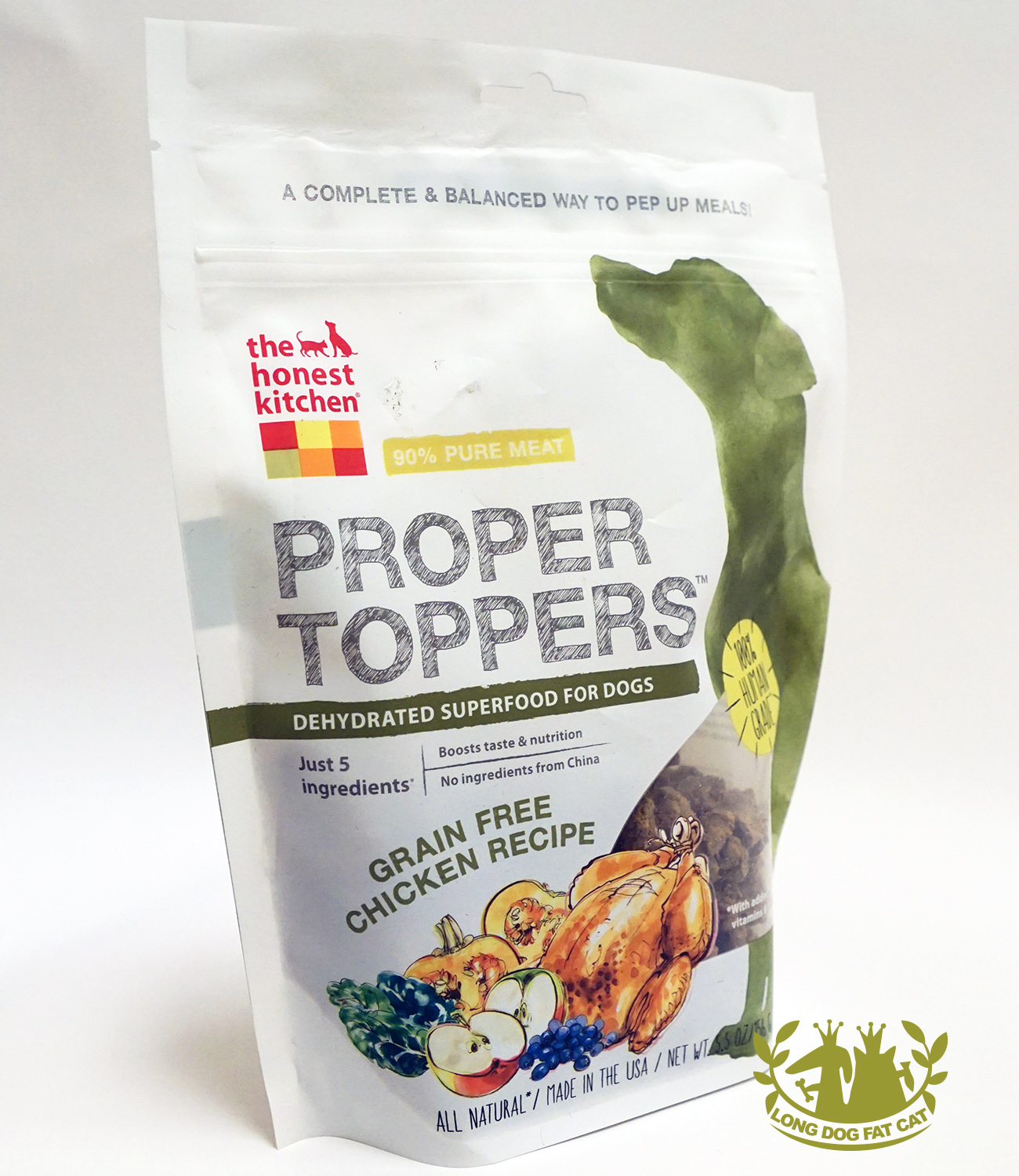 honest kitchen dog food reviews armoire proper toppers chicken