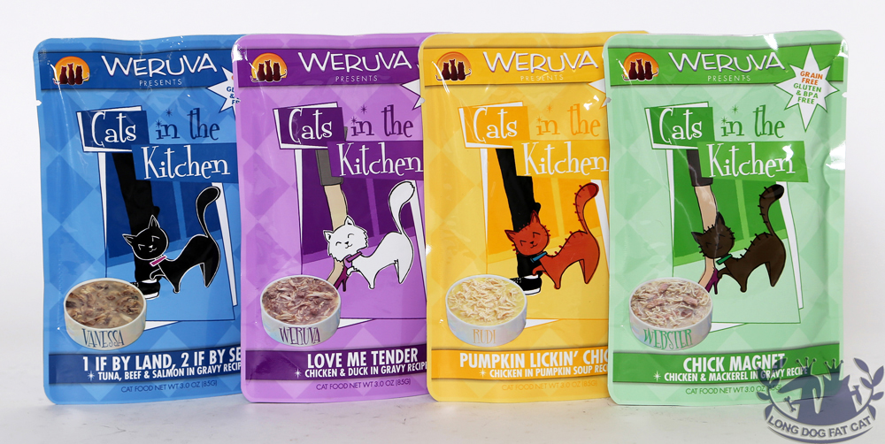 cats in the kitchen black cabinets weruva cat pouches 3oz