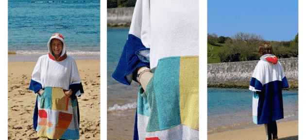 Read more about the article Un projet Upcycling social et solidaire : de serviette à poncho