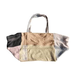 Sac de plage 100% Upcyclé « Brown Bag » modèle unique