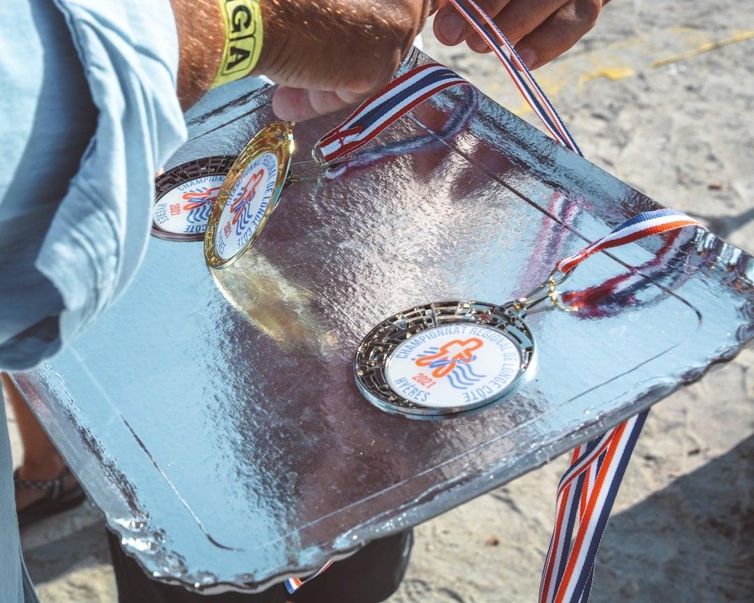 Médailles championnat longe-côte de PACA 2021