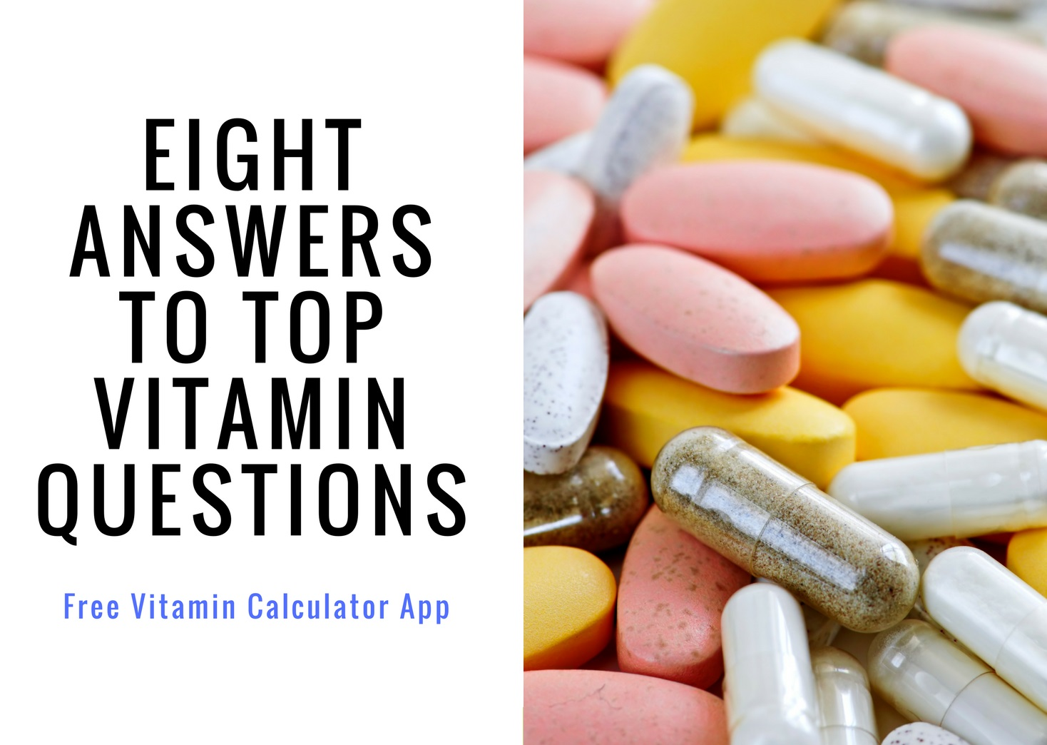 8 Answers To Top Vitamin Questions Longevityfacts