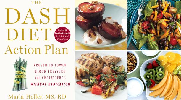 Dash Diet book by Marla Heller