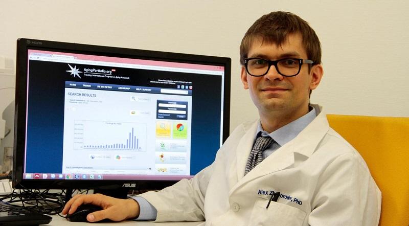 Aging Clock creator Dr. Alex Zhavoronkov.