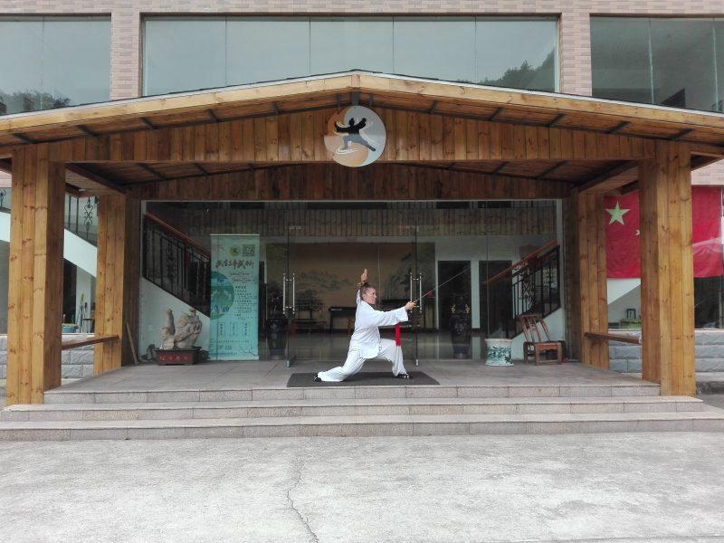 Allenamento spada di Wudang
