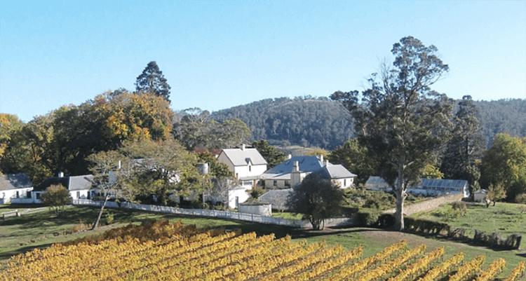 Brickedon Farm buildings Longford Tasmania