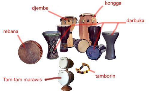 Alat Musik Tradisional Kalimantan Barat Hadrah