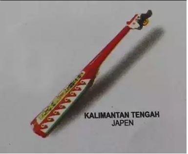 Alat Musik Tradisional Kalimantan Tengah Japen