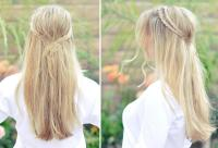 Messy Rope Braid  Long Hairstyles How To