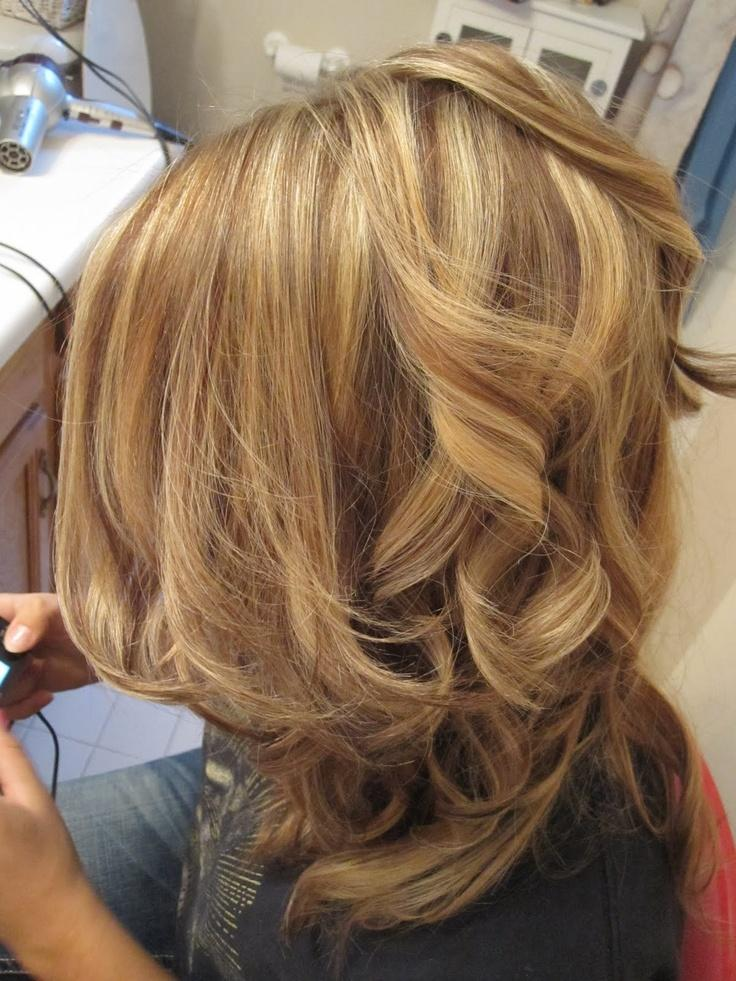 Curly Lowlights  Long Hairstyles How To