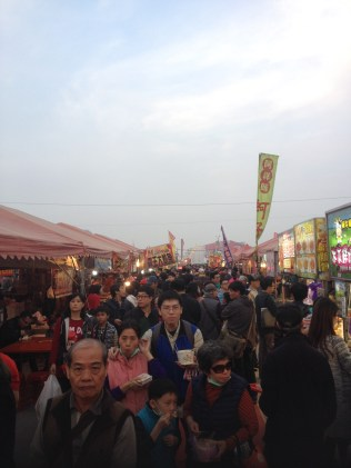 Food market at the Lantern Festival