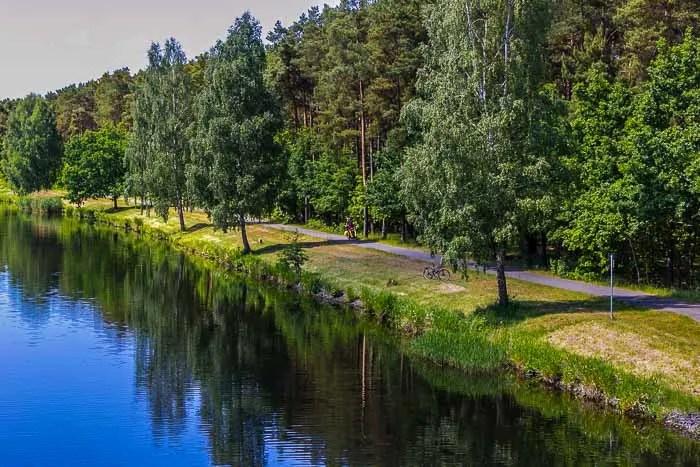 The Elbe River provided beautiful, flat paths through German farmland and quaint villages.