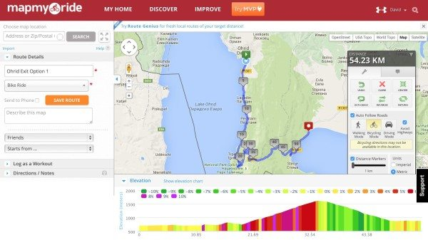 The Best Offline Mapping Tools For Cycle Touring - Map my bike ride