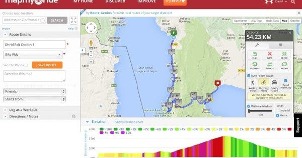 The Best Offline Mapping Tools For Cycle Touring - What's the elevation at my location