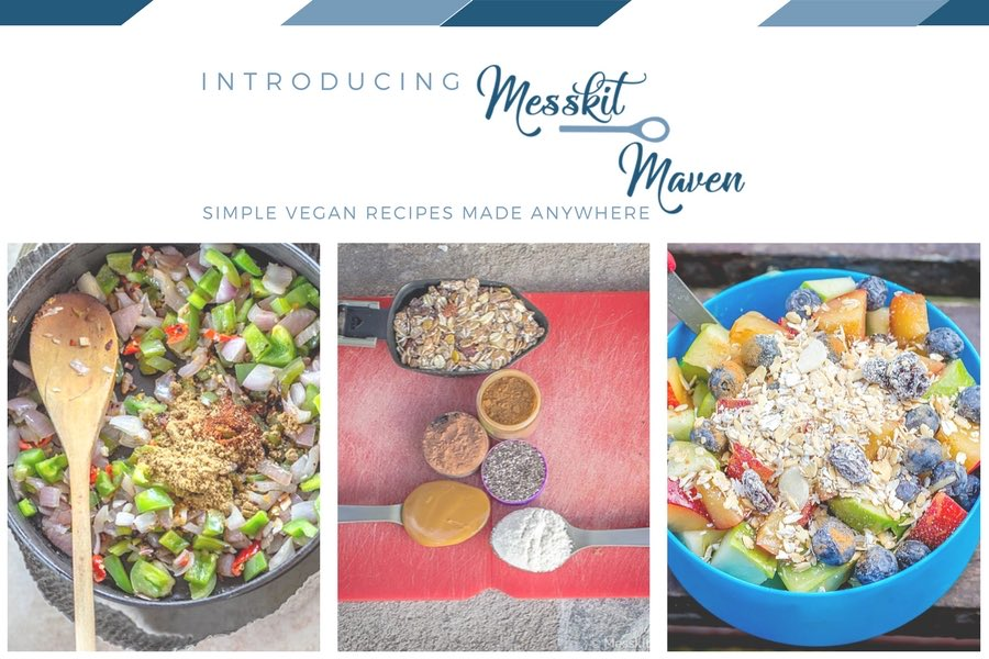 Messkit Maven - Simple Recipes Made Anywhere