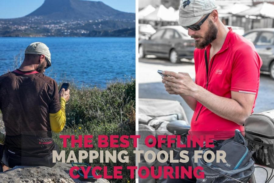 The Best Offline Mapping Tools for Cycle Touring   Long Haul Trekkers