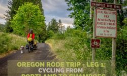 Oregon Rode Trip - Leg 1: Portland to Champoeg | Long Haul Trekkers