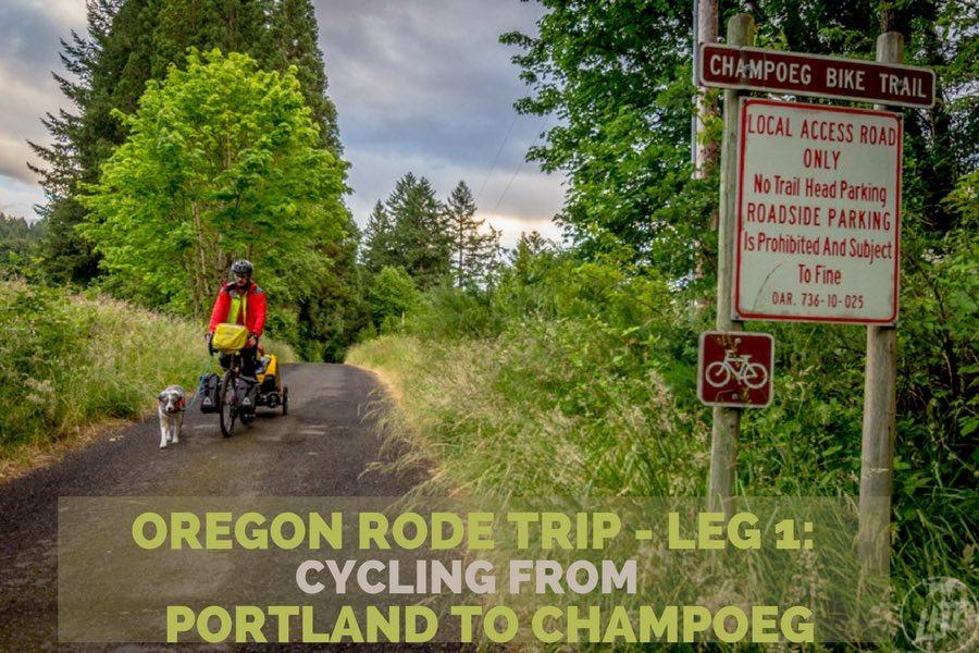 Oregon Rode Trip - Leg 1: Portland to Champoeg | Long Haul Trekkers