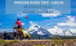 Central Oregon's McKenzie Pass Scenic Bikeway
