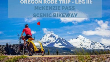 Central Oregon's McKenzie Pass Scenic Bikeway