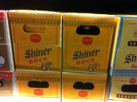 Shiner Bock - arguably the most well-known Texas brewed beer