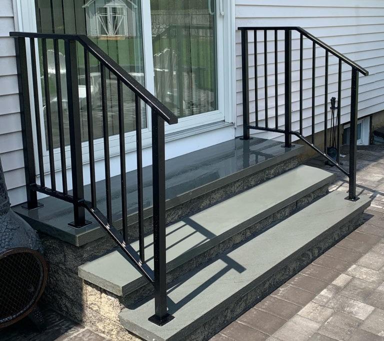 Long Island Stair Railings Gallery Long Island Custom Railings   Long Island Custom Railings   Stair Railing   Aluminum Railings   Stainless Steel   Grano Jr   Staircase