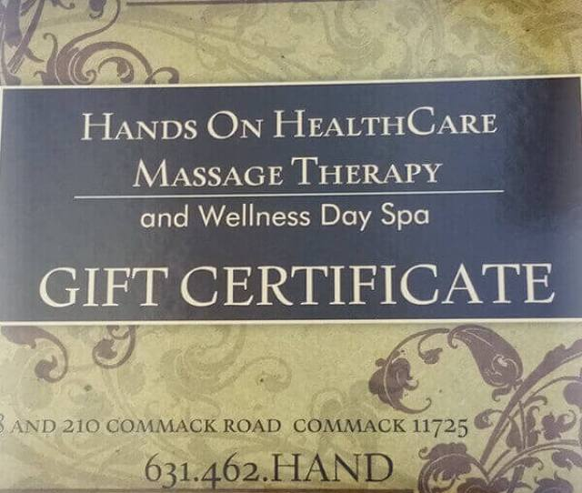 We Offer The Best Massage On Long Island