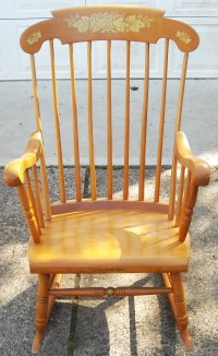 Antique Maple Rocking Chair | Antique Furniture