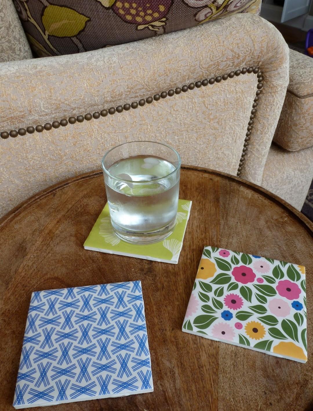 FREE Tile Coaster Sample