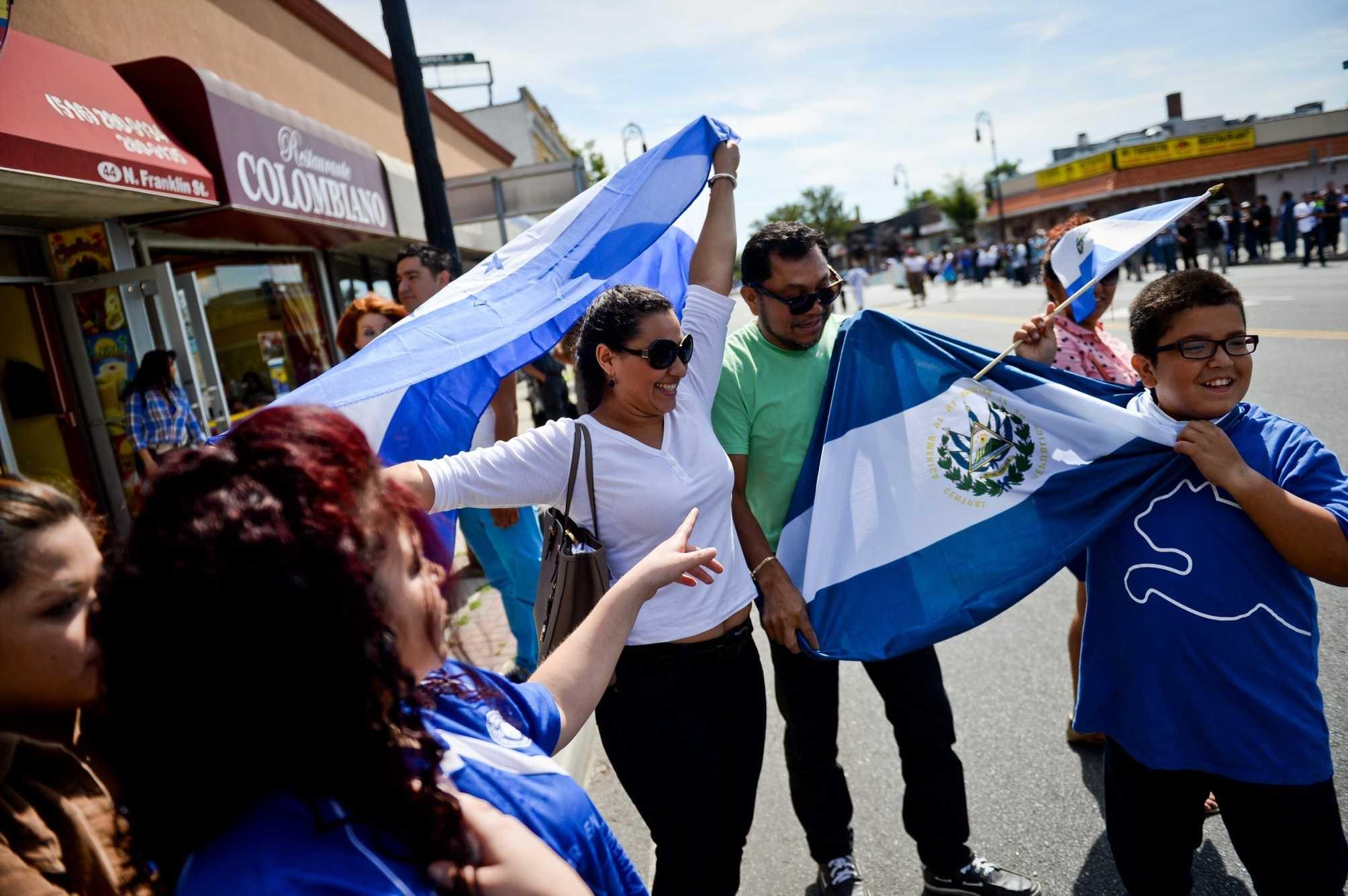 Latin Flags Whole Pic America