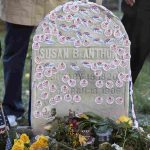 Voters Gather at Susan B. Anthony's Grave in Rochester